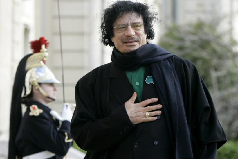 Moammar Gadhafi was captured by Libyan rebel Mohammed El Bibi