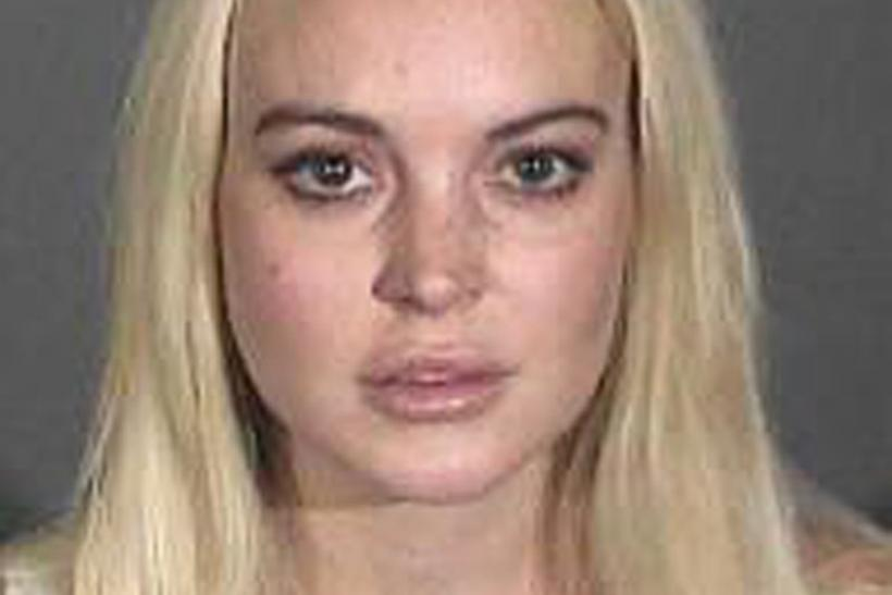 Actress Lindsay Lohan is shown in this booking photograph released by the Los Angeles County Sheriff's Department