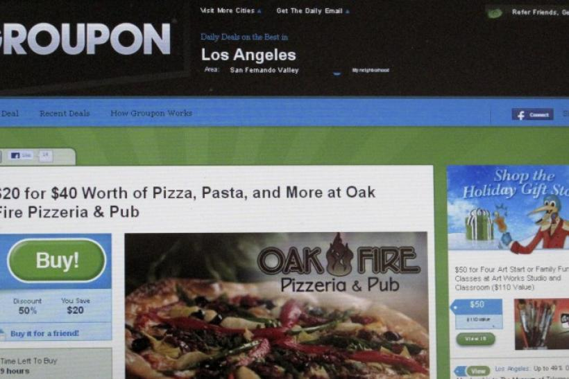 Groupon Set To Earn $478M in IPO