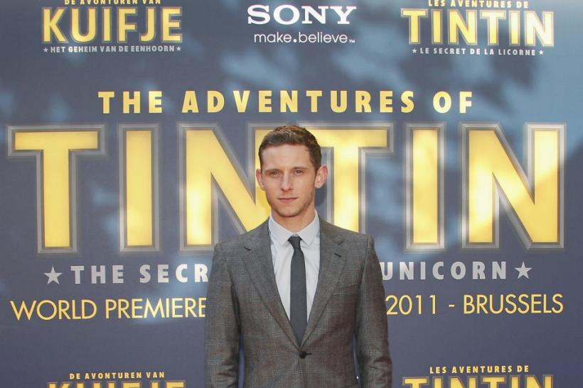 "Cast member Jamie Bell poses during a photocall ahead of the world premiere of the movie ""The Adventures Of Tintin: The Secret of The Unicorn"" in Brussels October 22, 2011."