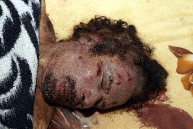 Moammar Gadhafi Dead, Buried in a Secret Location