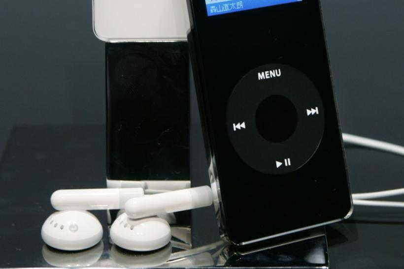 Apple Computer Inc. unveils the company's new digital music player 'iPod Nano' at a news conference in Tokyo. Apple Computer Inc. unveils the company's new digital music player 'iPod Nano' at a news conference in Tokyo September 8, 2005. The seriously sli