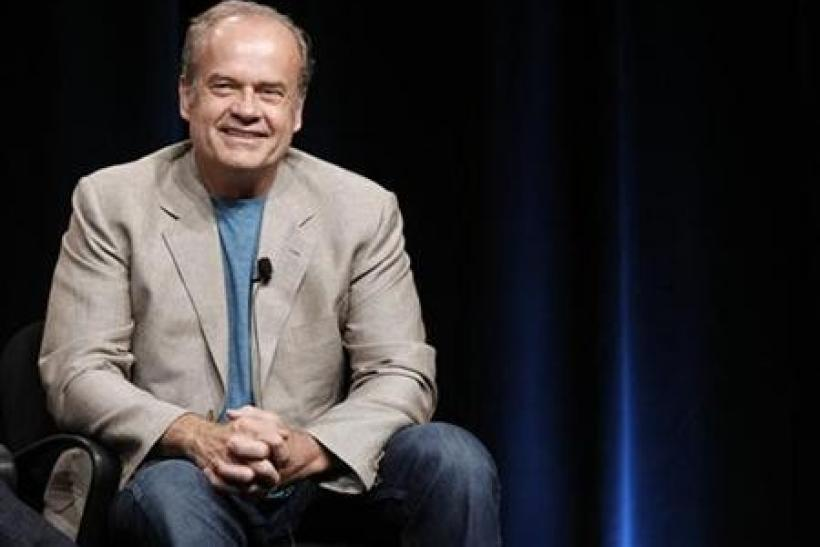 Cast member Kelsey Grammer attends the Starz session for ''Boss'' at the Summer Television Critics Association Cable Press Tour in Beverly Hills, California