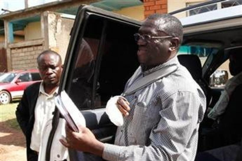 "Uganda""s Forum for Democratic Change (FDC) leader Kizza Besigye"