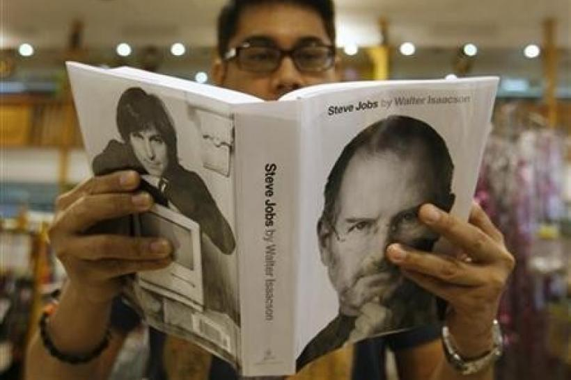 Amazon Lists Steve Jobs Bio as 2011's Bestseller