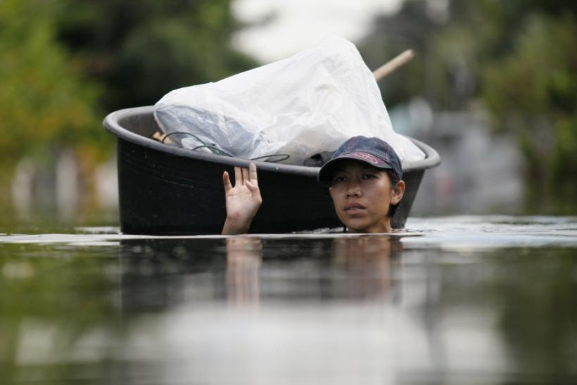 Bangkok's Suburbs Submerged in Floodwater