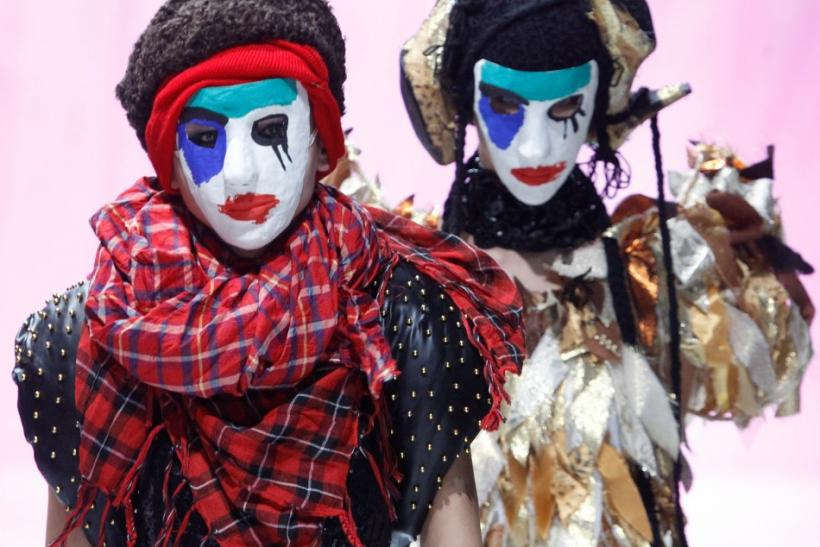 Halloween 2011: Top 15 Easy-to-Make Scary Masks and Hairstyles