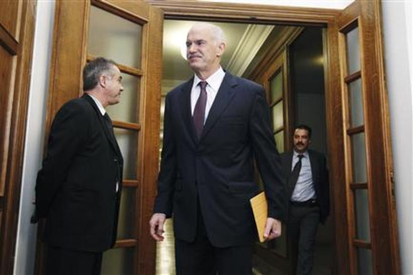 Greece's PM Papandreou