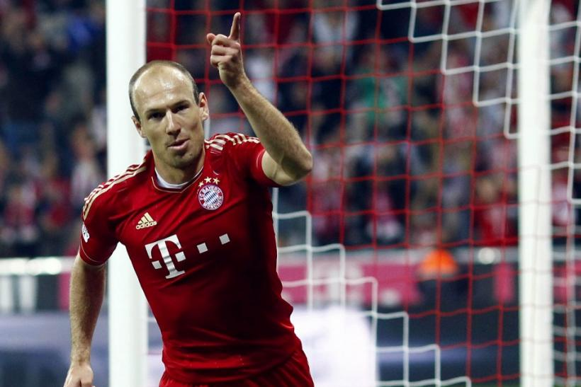 Arjen Robben (Bayern Munich and Holland)