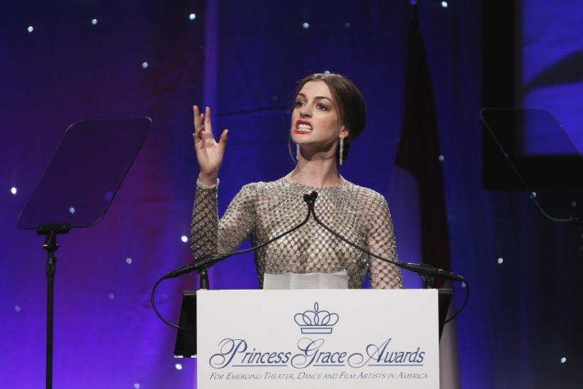 Monaco Royal Couple and Celeb Grace Princess Grace Awards Gala