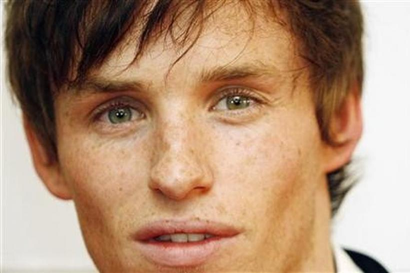 British actor Eddie Redmayne poses during the premiere of Tom Kalin´s film ''Savage Grace'' in Madrid