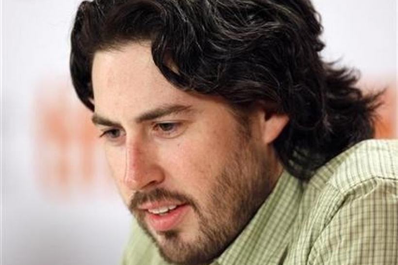 Director Jason Reitman listens during the news conference for the film ''Up In The Air'' at the 34th Toronto International Film Festival in Toronto