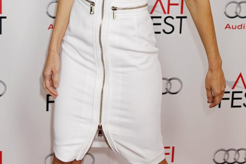 "Actress Hilary Swank arrives as a guest at the opening night gala for AFI Fest 2011 with the premiere of director Clint Eastwood's film ""J. Edgar"" in Hollywood"
