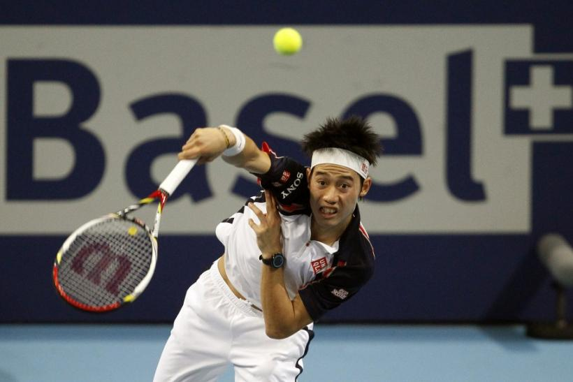 Djokovic upset by unseeded Nishikori in Basel