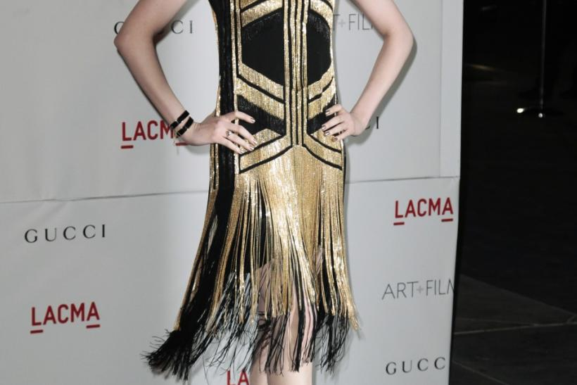 Actress Evan Rachel arrives at the Los Angeles County Museum of Art (LACMA) Art + Film Gala in Los Angeles, California