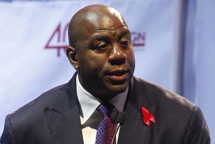 Magic Johnson Commemorates 20th Anniversary of Historic Public HIV Announcement