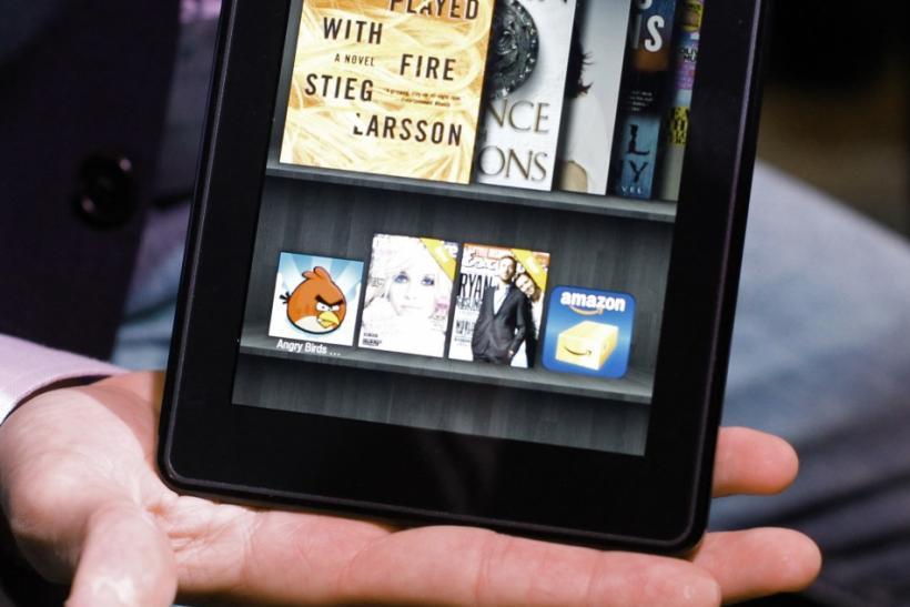 Amazon Kindle Fire Vs  Touch Vs  Keyboard: Which E-Reader Is