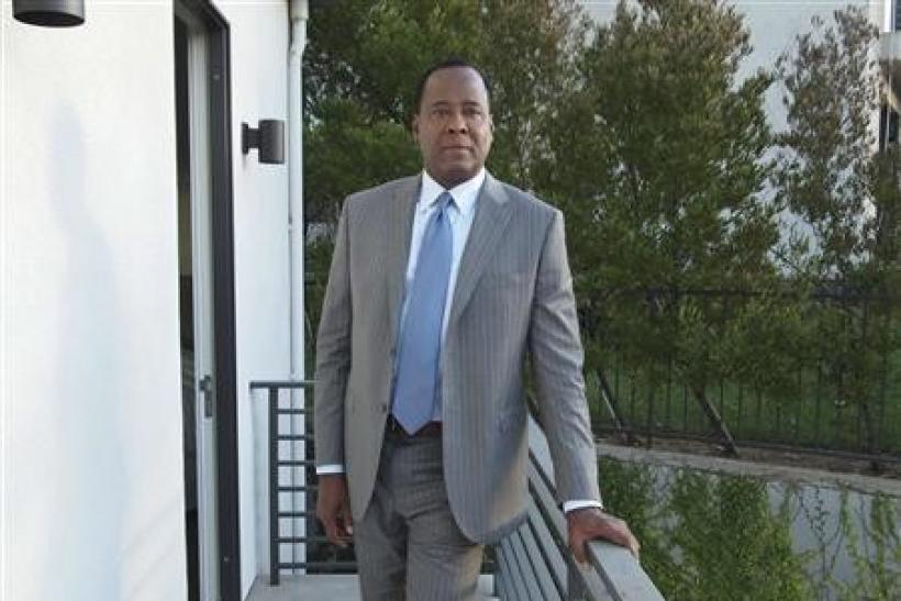 Dr. Conrad Murray in an undated publicity photo for his tell-all documentary.