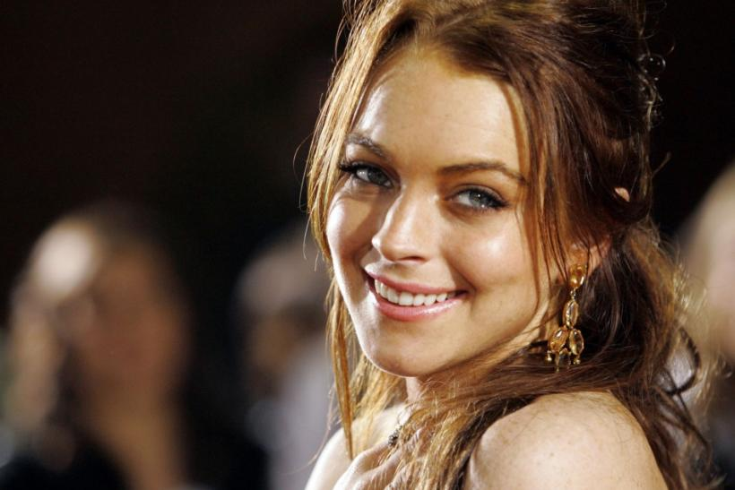 "Cast member Lindsay Lohan attends the premiere of ""Just My Luck"" at the Mann National theatre in Los.."