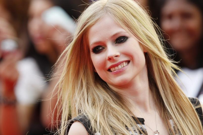 Singer Avril Lavigne during the MuchMusic Video Awards in Toronto