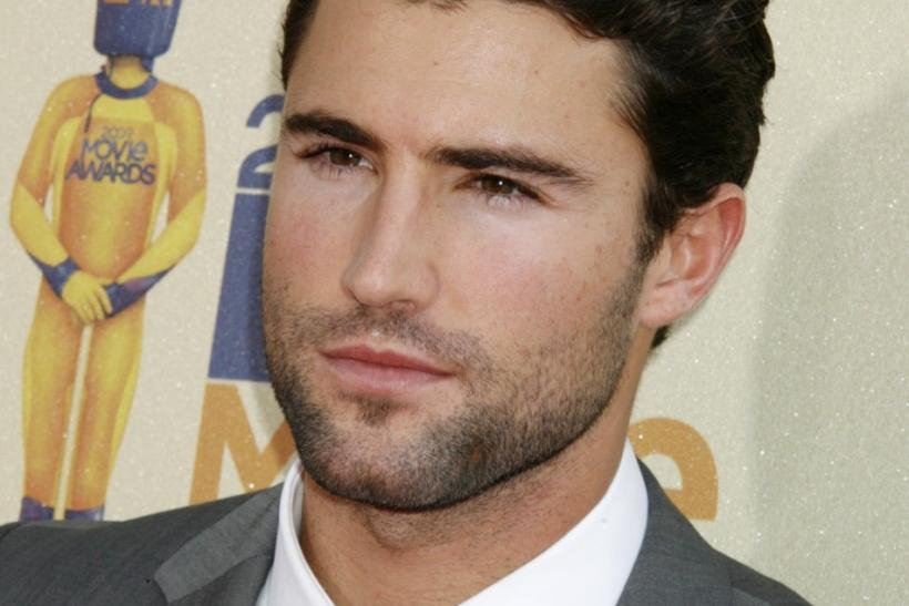 Brody Jenner poses at the 2009 MTV Movie Awards in Los Angeles