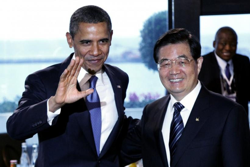 Presidents Obama and Hu