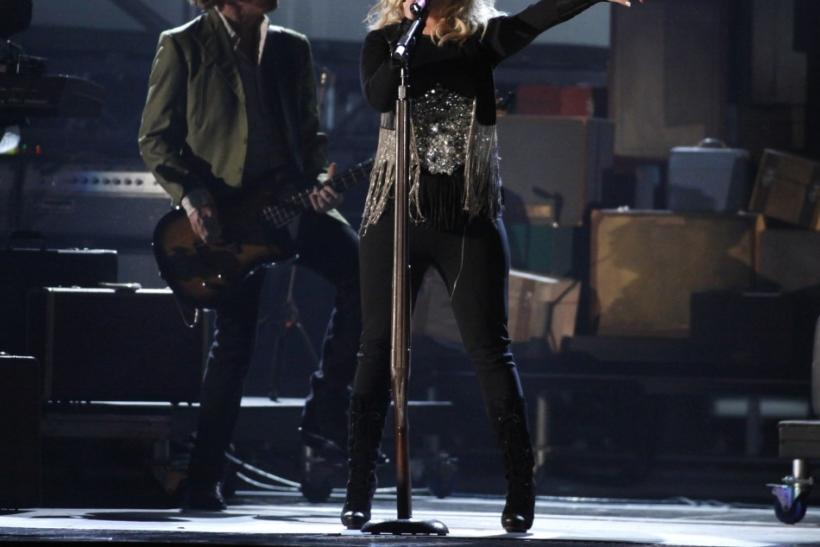 "Miranda Lambert performs ""Baggage Claim"" at the 45th Country Music Association Awards in Nashville"
