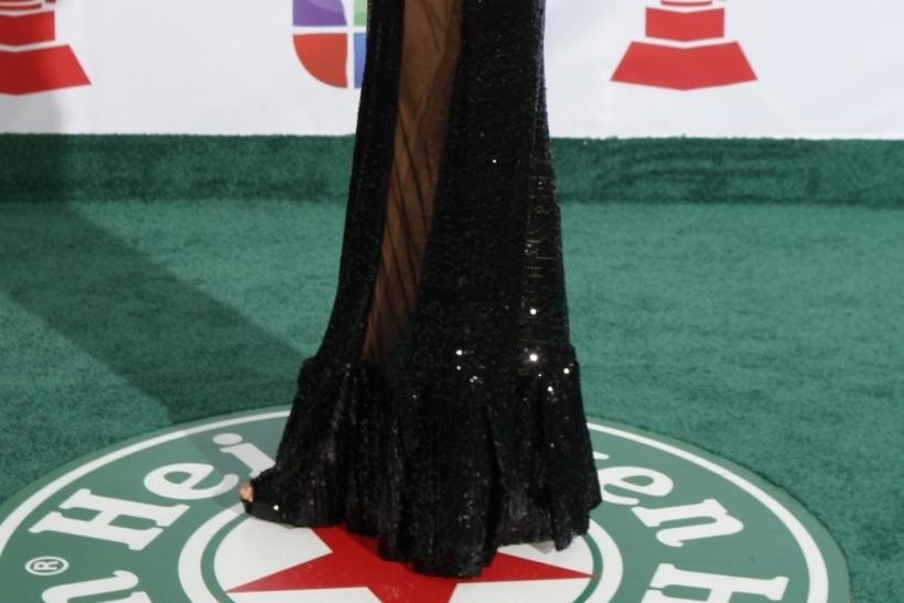 Mexican actress Blanca Soto arrives at the 12th annual Latin Grammy Awards in Las Vegas, Nevada