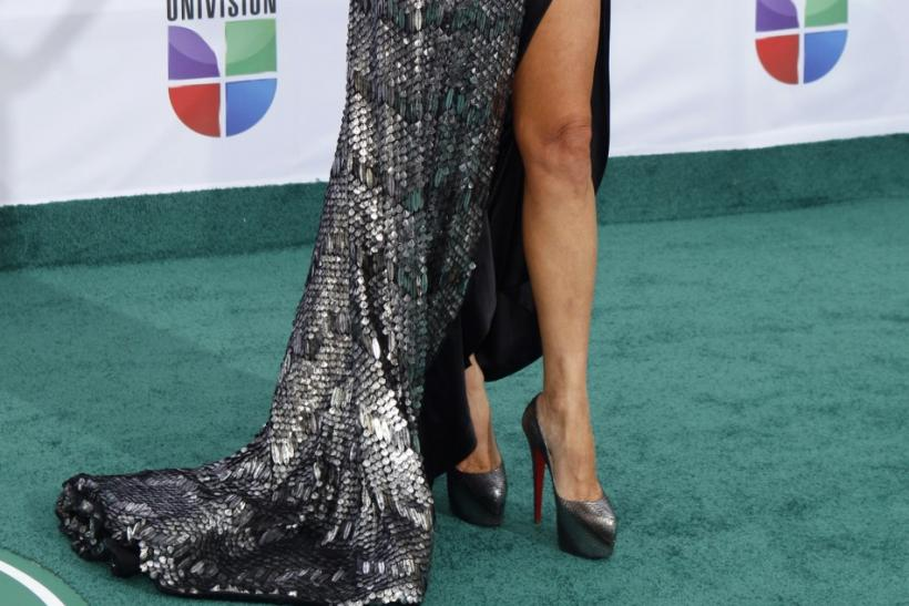 Actress Giselle Blondet arrives at the 12th annual Latin Grammy Awards in Las Vegas, Nevada