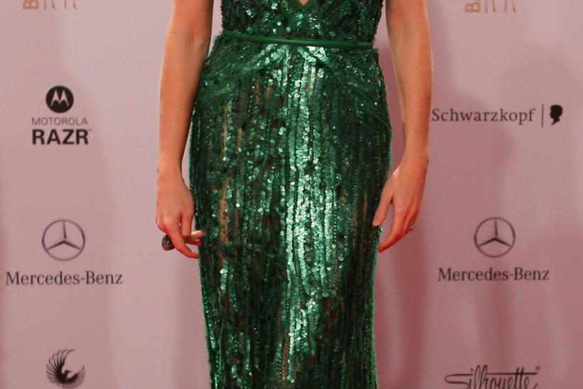 Actress Gwyneth Paltrow poses on the red carpet as she arrives for the 63rd Bambi media award ceremony in Wiesbaden