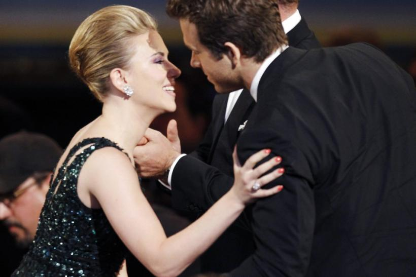 Scarlett Johansson and Ryan Reynolds