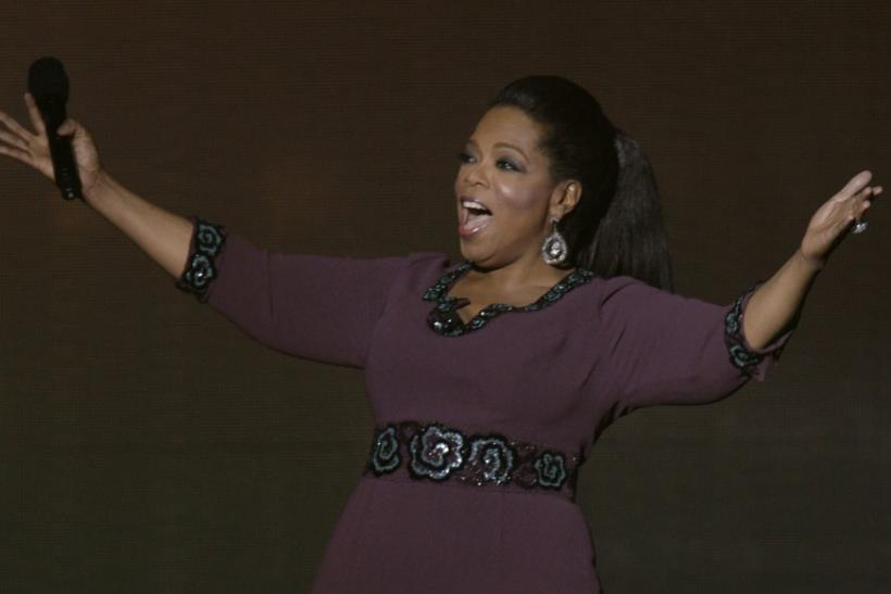 "Oprah Winfrey receives ""unimaginable"" Oscar"
