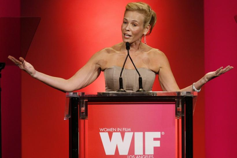 Television personality Chelsea Handler hosts the Women in Film 2009 Crystal and Lucy Awards in Century City