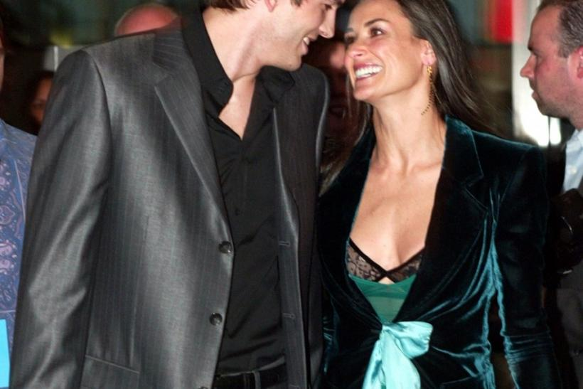 Actress Demi Moore and husband actor Ashton Kutcher end their marriage