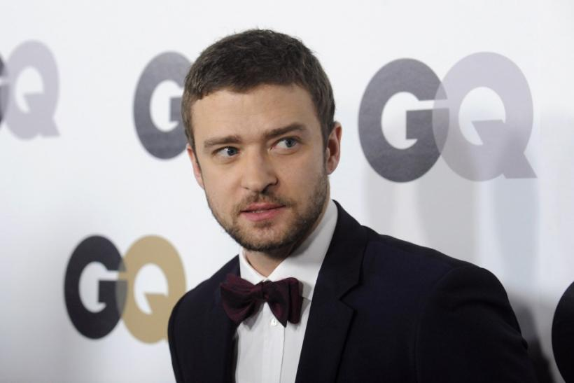 "Singer Justin Timberlake attends the GQ ""Men of the Year"" party in Los Angeles"