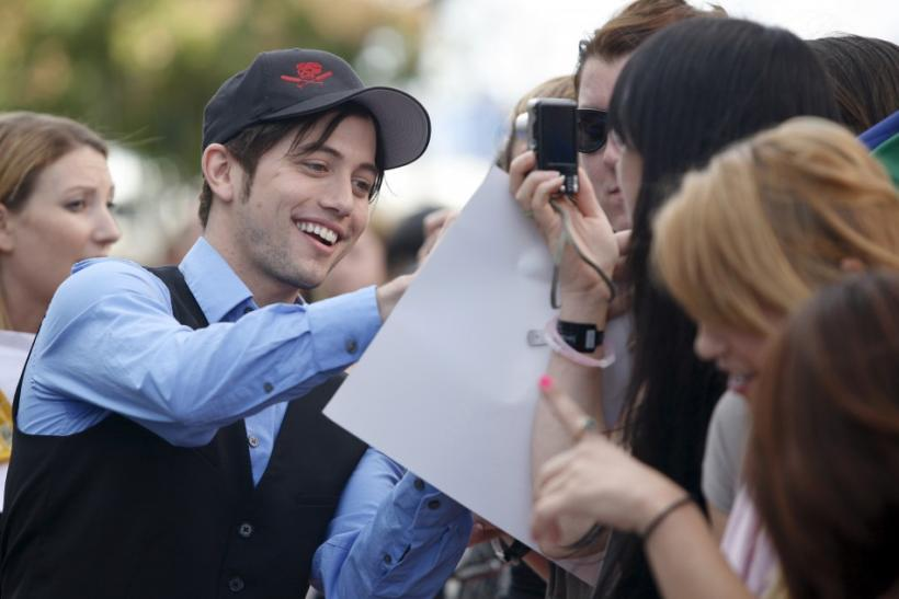 Jackson Rathbone signs autographs in Los Angeles, California