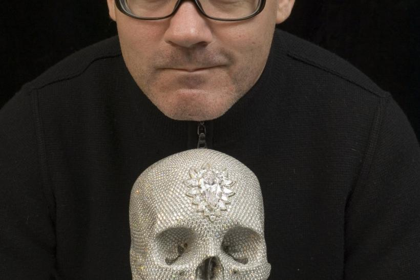 Damien Hirst S 18th Century Diamond Encrusted Human Skull On Display At The Tate