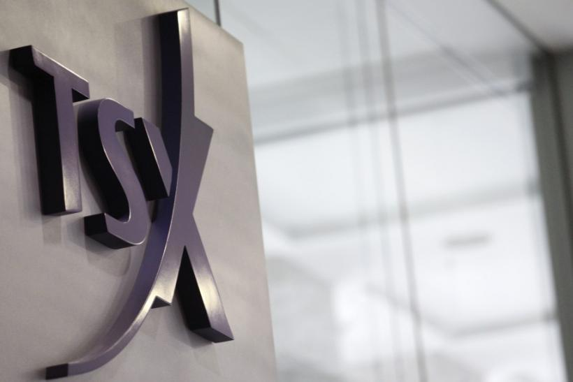 TSX little changed, Kinross drop offsets China