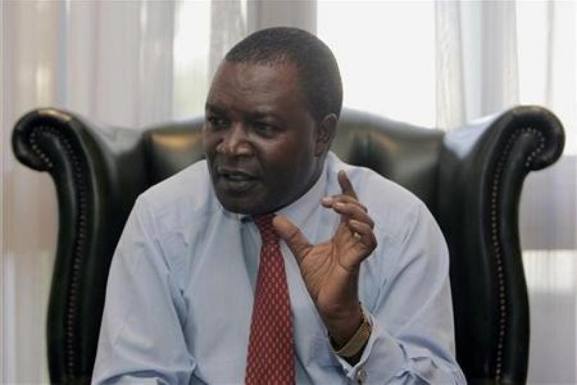 "Kenya""s Central Bank Governor Njuguna Ndung""u speaks to Reuters"