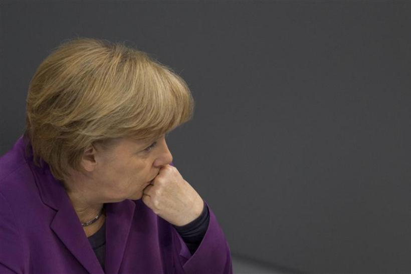 German Chancellor Angela Merkel attends Bundestag session about right-wing violence in Berlin
