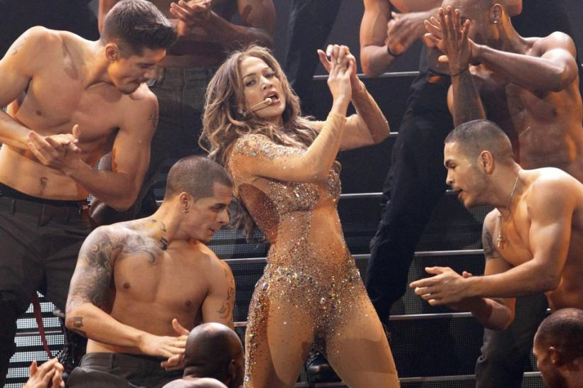 Singer Jennifer Lopez performs at the 2011 American Music Awards in Los Angeles