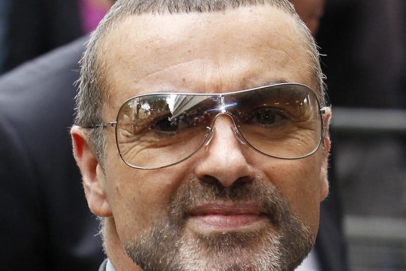 British singer George Michael