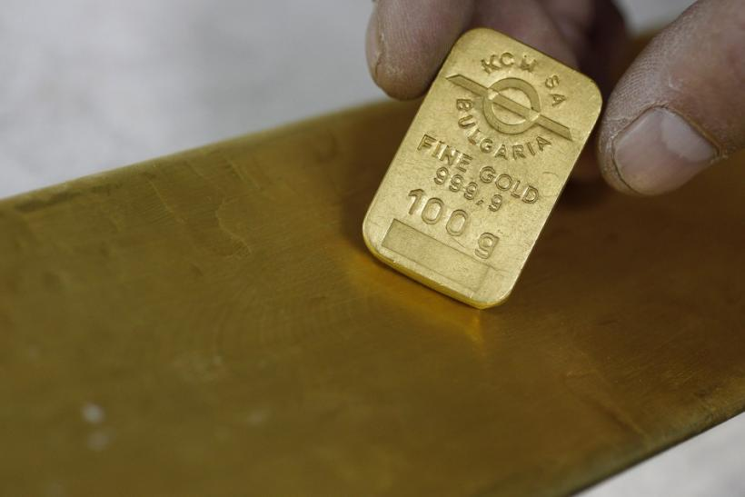 100 gram gold bar and 12 kg gold bar