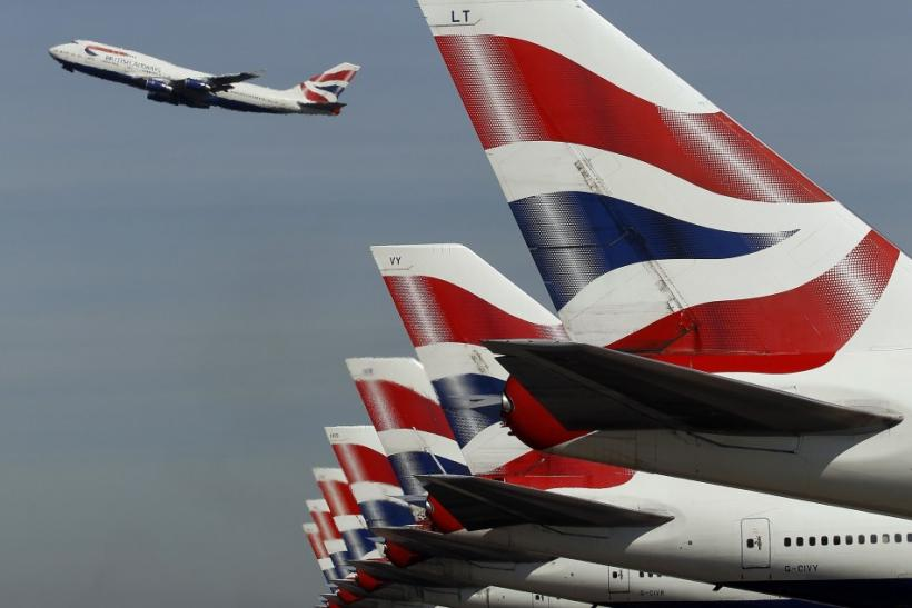 British Airways at Heathrow Airport