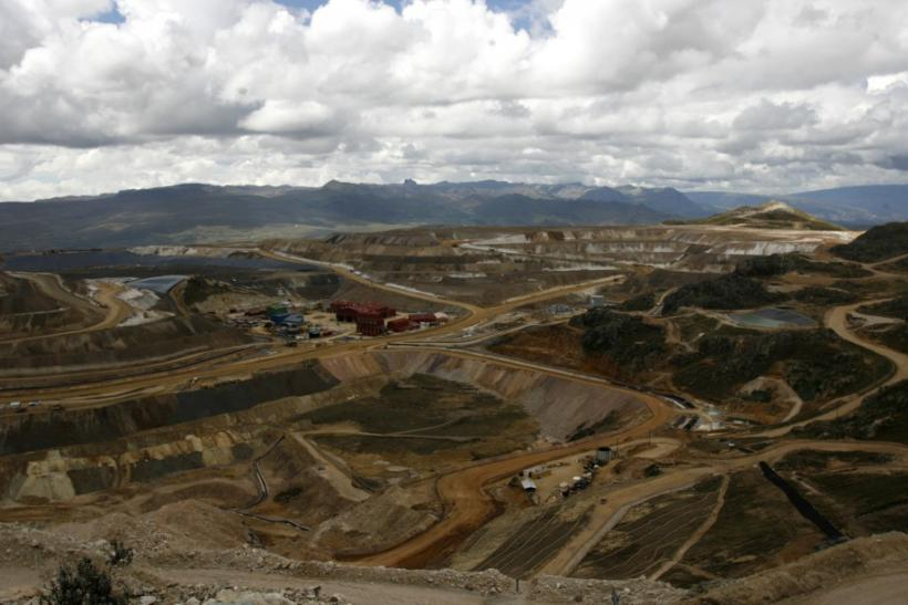 Yanacocha mine in Peru