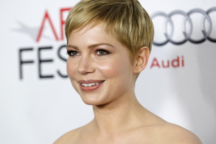 Actress Michelle Williams poses at a screening of My Week With Marilyn during AFI Fest 2011 in Hollywood