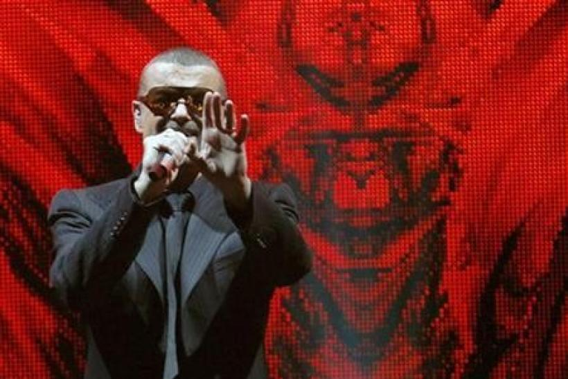 Singer George Michael performs at the Albert Hall in London October 25, 2011.