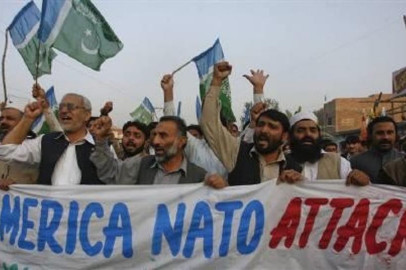 Pakistan Protests NATO Attack
