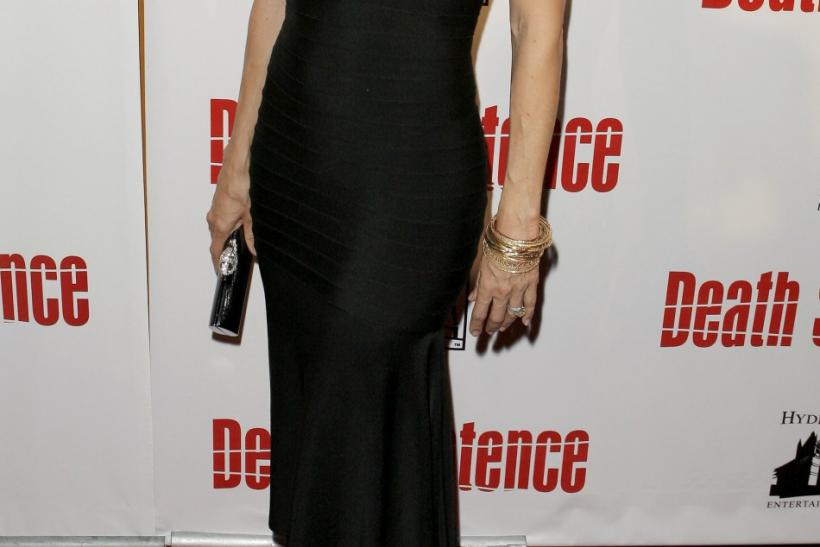 "Actress Kelly Preston arrives at the premiere of the film ""Death Sentence"" in New York August 28 2007."