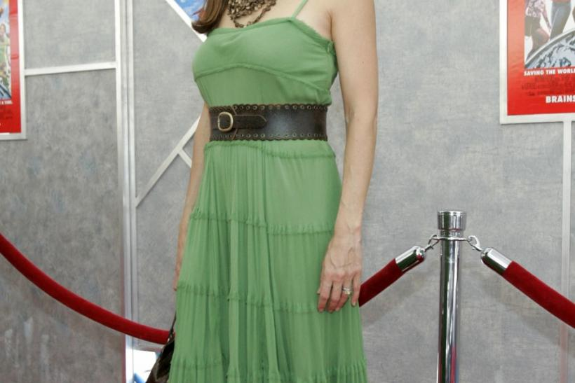 "Actress Kelly Preston arrives at the worldwide premiere of Walt Disney Pictures' ""Sky High"" at El Capitan theatre in Hollywood on July 24, 2005."